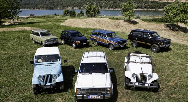 Jeep показал эволюцию своих машин в двухминутном ролике