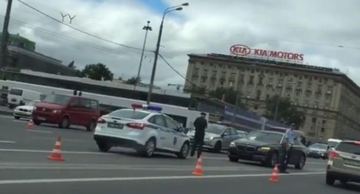 В Москве автомобиль Минобороны РФ убил человека