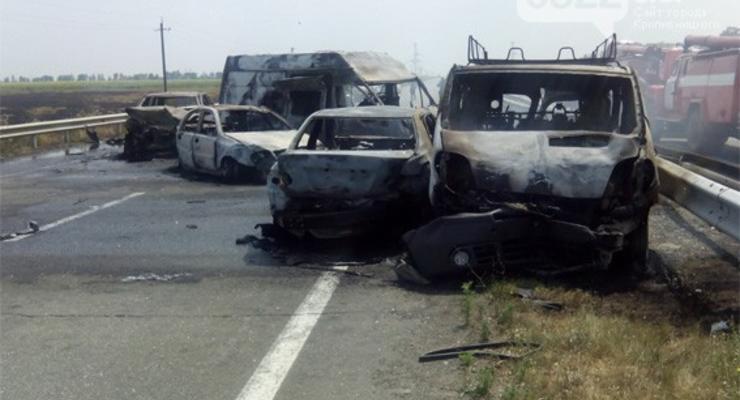 Страшная авария на трассе Киев-Одесса: есть жертвы
