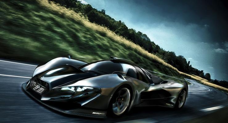 Mercedes-Benz разработает мощный гиперкар за 3 млн евро