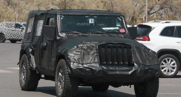 Новый Jeep Wrangler испытали в Долине Смерти