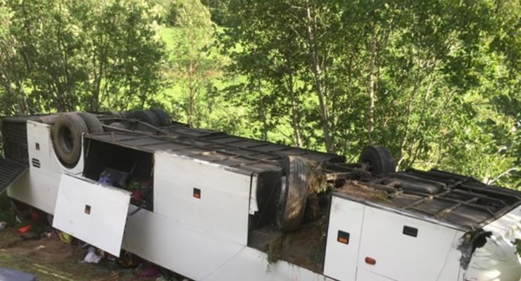 Смертельное ДТП в Норвегии: автобус с украинцами рухнул в ущелье
