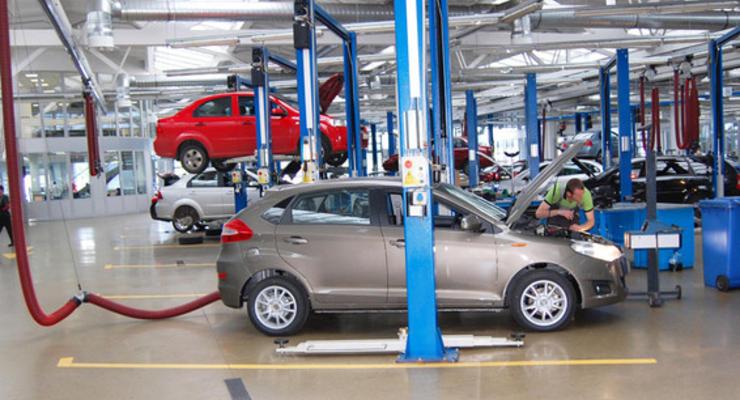 В Украине сократилось производство авто