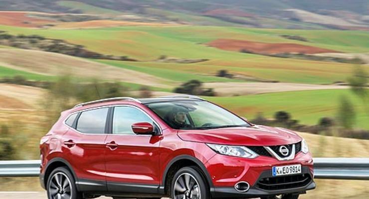 Nissan снизил цены на кроссовер Qashqai в Украине