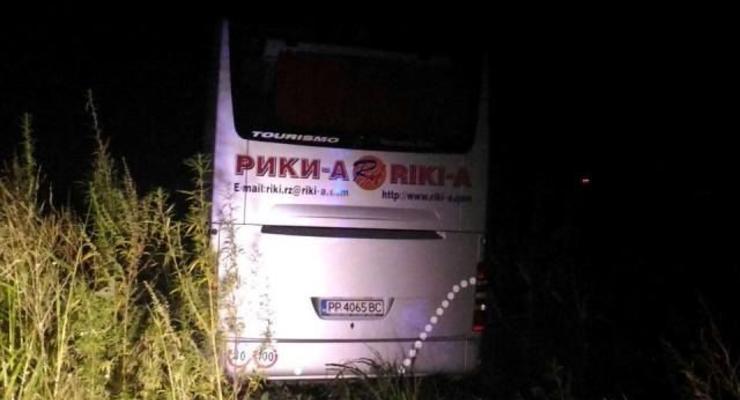 Автобус с украинцами попал в аварию в Румынии