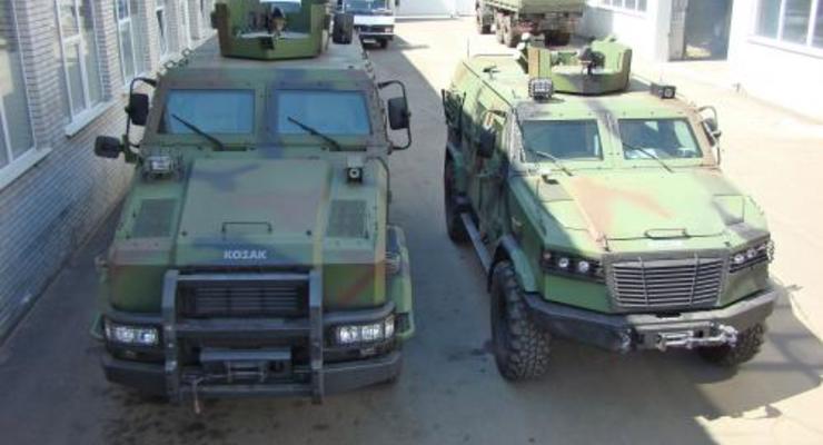 В Украине разработали новый броневик