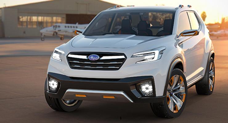 Subaru анонсировала электрический кроссовер
