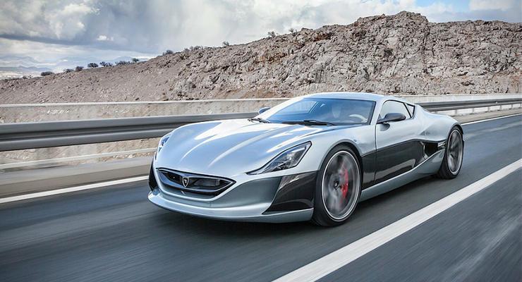 Хорватский суперкар выиграл заезд у Tesla и Ferrari