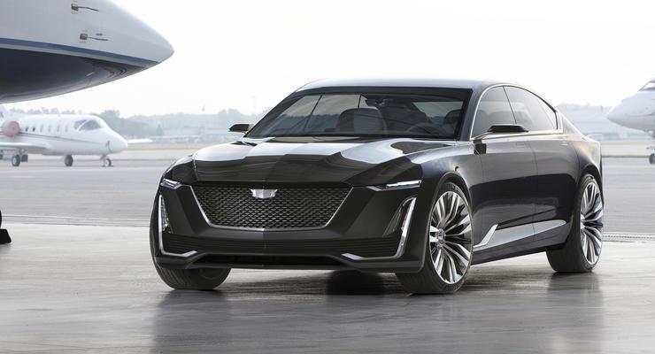 Cadillac представил в США концепт-кар Escala