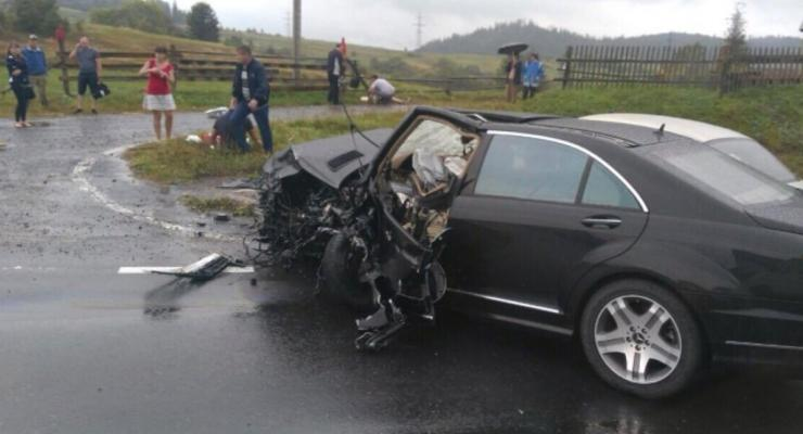 Нардеп от Видродження попал в аварию на Львовщине