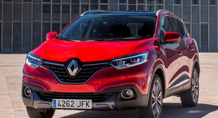 В Украине стартуют продажи кроссовера Renault Kadjar