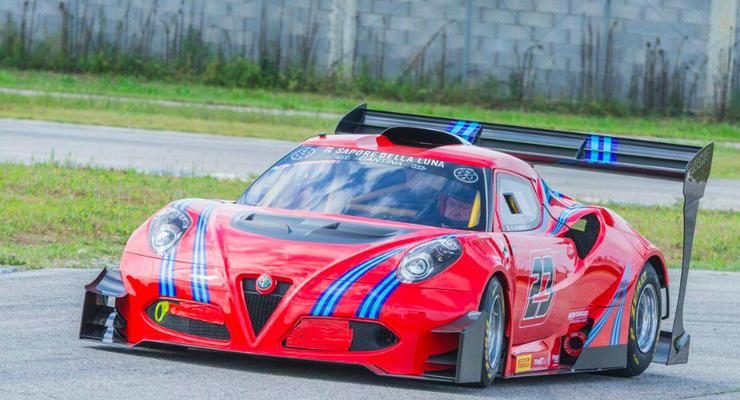 Тюнеры превратили Alfa Romeo 4C в 600-сильный гоночный автомобиль