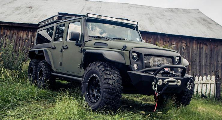 В Китае скрестили Jeep Wrangler и Gelandewagen
