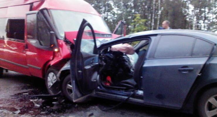 В смертельном ДТП в России пострадали пятеро украинцев