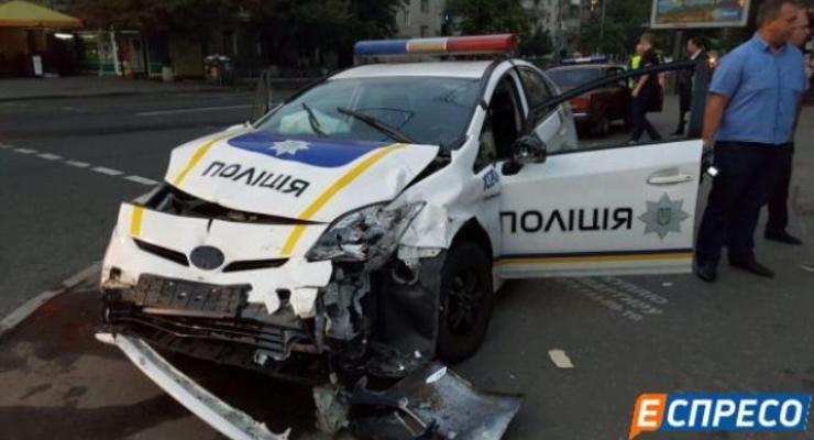 В Киеве скончался пострадавший в ДТП с участием авто полицейских