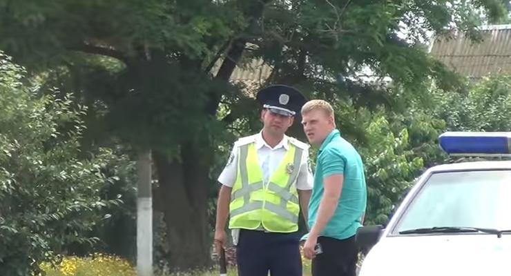 "Журналист ""словил"" на взятках гаишников Запорожской области"