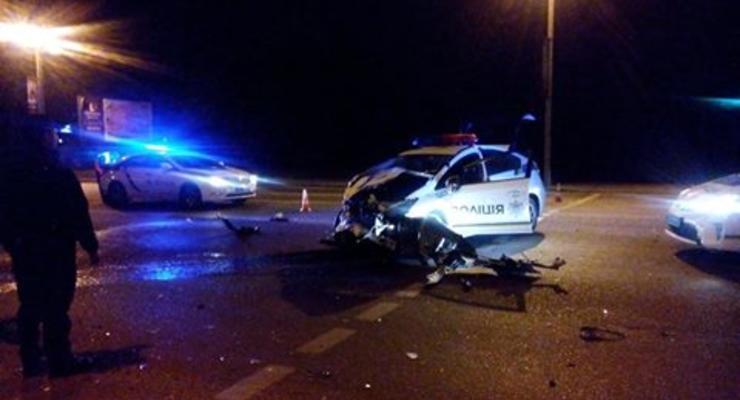 Во Львове произошло ДТП по вине полиции