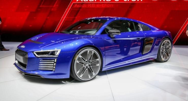 Audi прекратила выпуск электрического R8
