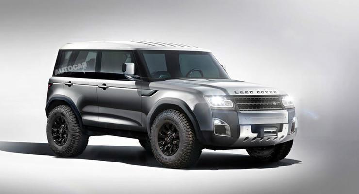 Новый Defender от Land Rover будет полностью из алюминия