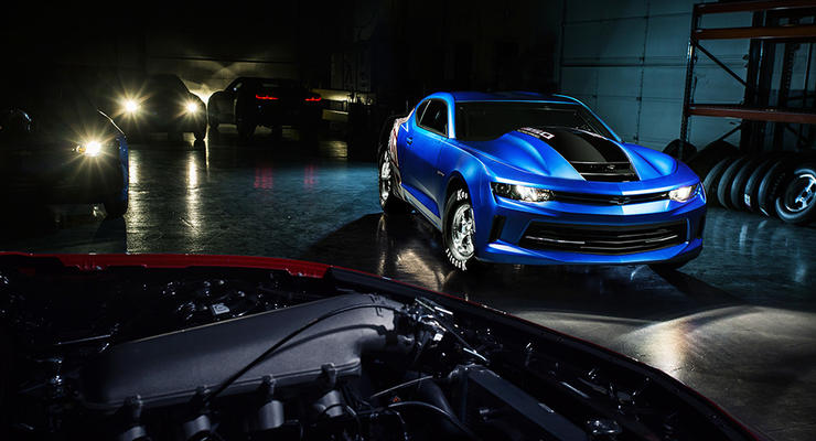 Chevrolet построила специальный Camaro для дрэг-рейсинга