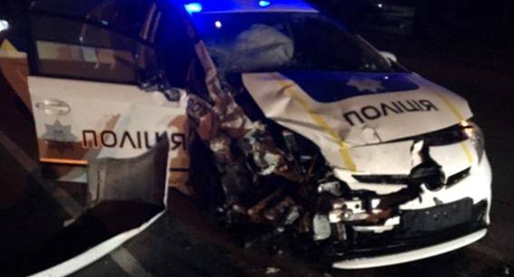 В результате ДТП с участием полиции погиб таксист
