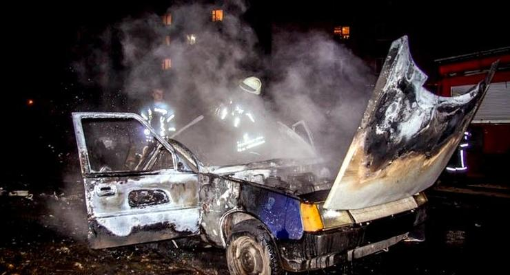 В Житомире взорвалось авто после заправки газом