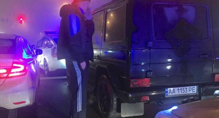 """Пьяный """"депутат"""" совершил несколько ДТП, пытаясь уйти от полиции"""
