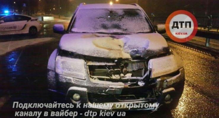 В Киеве водитель на купленном накануне авто насмерть сбил пешехода-нарушителя