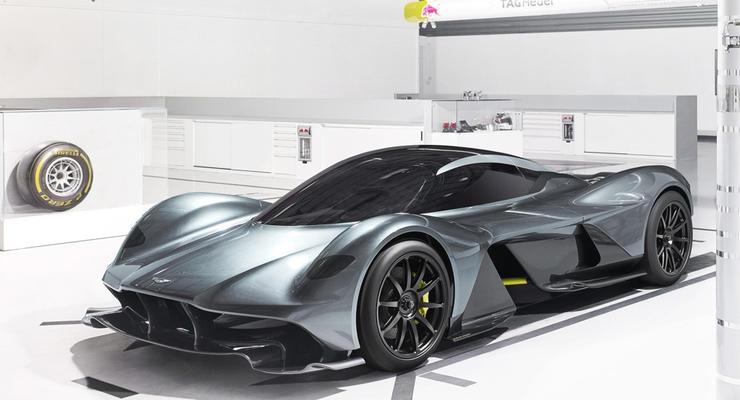 Весь тираж гиперкара от Aston Martin и Red Bull распродали за три года до выхода