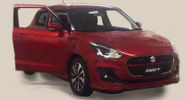 В Сети появилось фото Suzuki Swift нового поколения