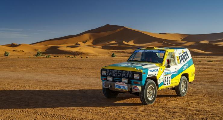 Сотрудники Nissan воскресили гоночный Patrol 1987 года