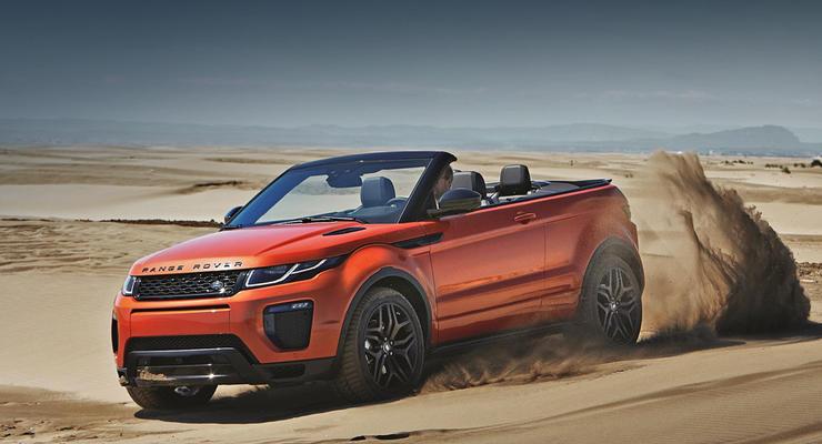 В Украине начали продавать кабриолет Range Rover Evoque