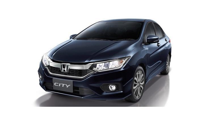 Honda показала обновленный седан City