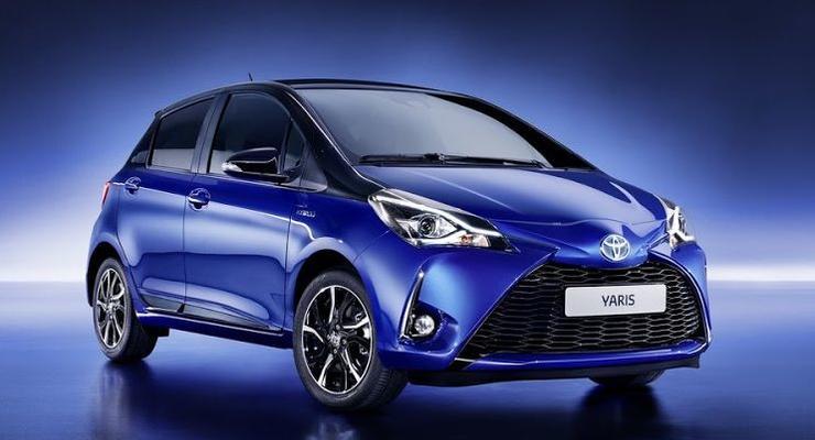 Toyota представила улучшенный Yaris с 900 новшествами