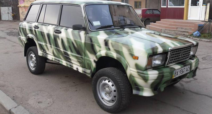 Украинец создал на базе четверки необычный внедорожник