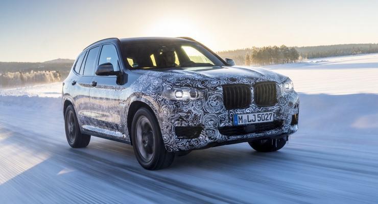 Новый BMW  X3 засветился на тестах