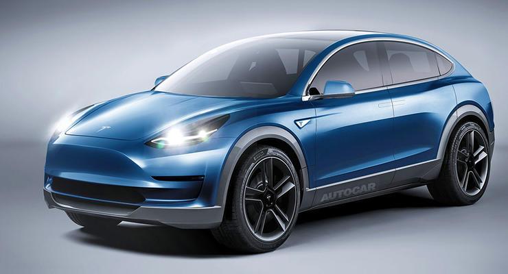 Tesla анонсировала новый компактный кроссовер