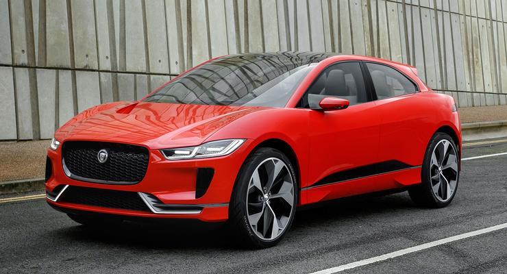 Новый конкурент Tesla: Jaguar показал 400-сильный электрокроссовер