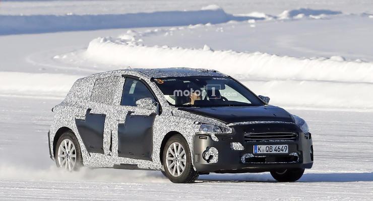 Ford Focus 2018 поймали на тестах