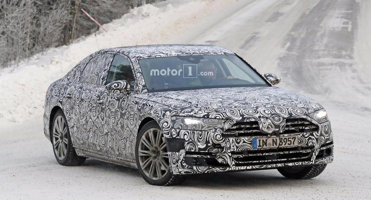 Названа дата премьеры новой Audi A8