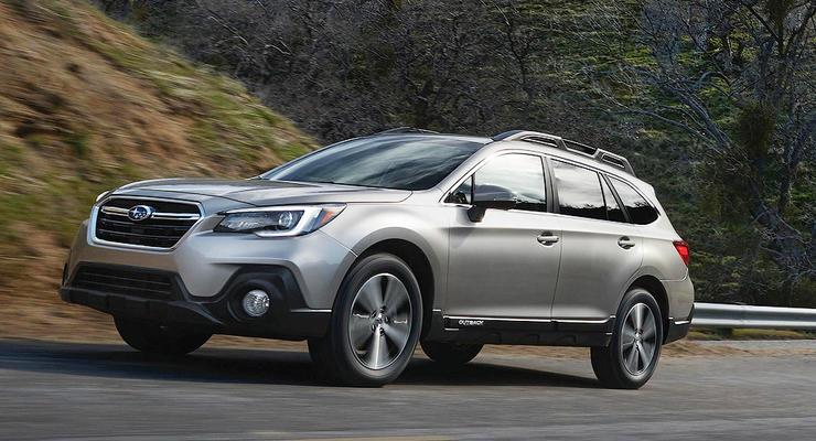 Subaru показала обновленный Outback