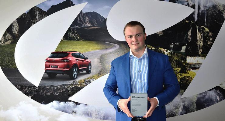 Хюндай Мотор Украина признана лучшим дистрибьютором автомобилей Hyundai