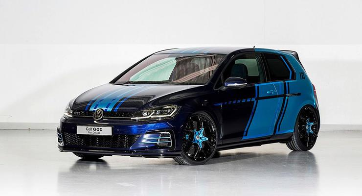 Volkswagen представил гибридный Golf GTI