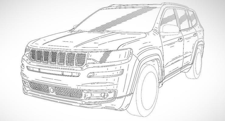 Новый внедорожник Jeep: первые изображения