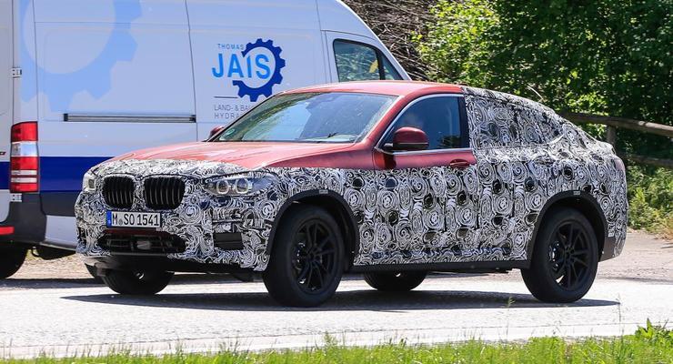 Новый BMW X4 замечен на тестах