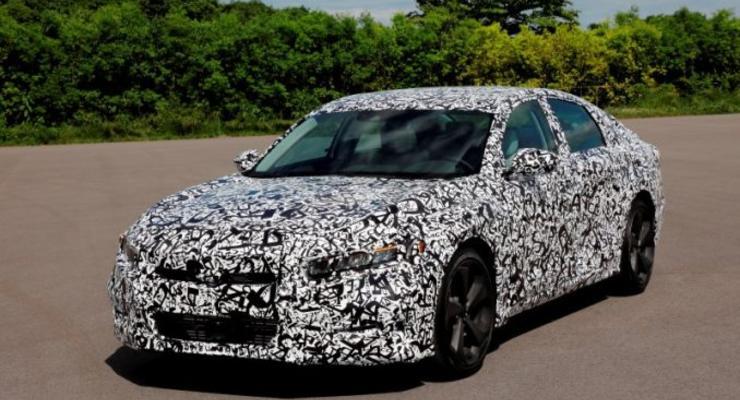 Honda Accord 2018: новые подробности