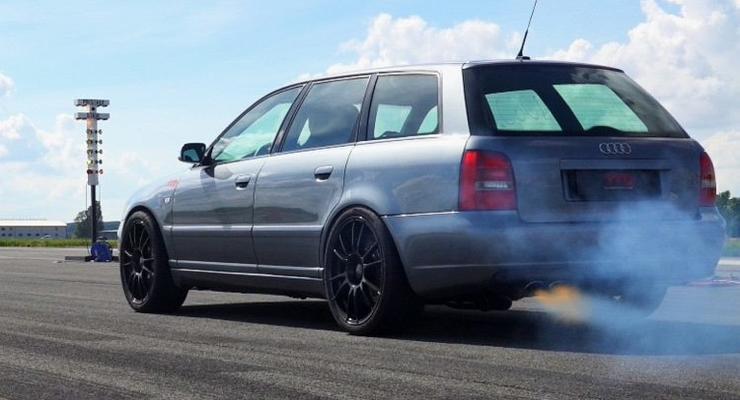 На что способна 1200 сильная Audi