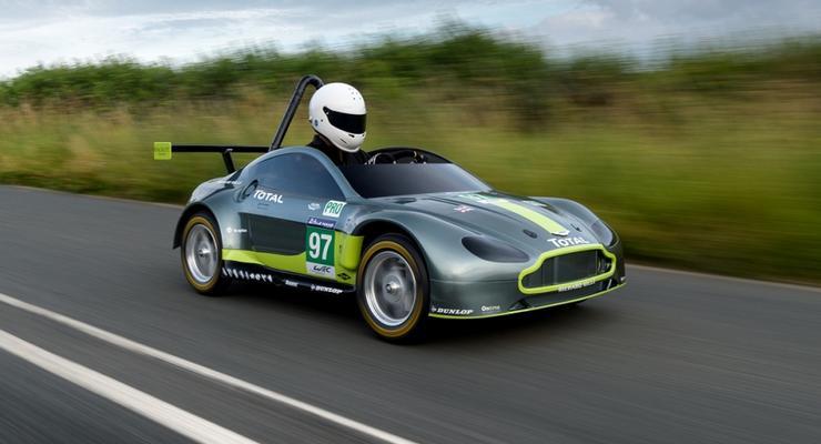 Aston Martin представил автомобиль без двигателя