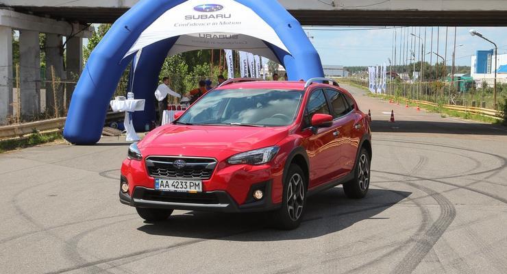В Украине презентовали новый Subaru XV