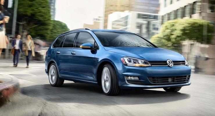 Универсал VW Golf получил украинский ценник